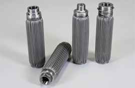 Stainless steel filter element